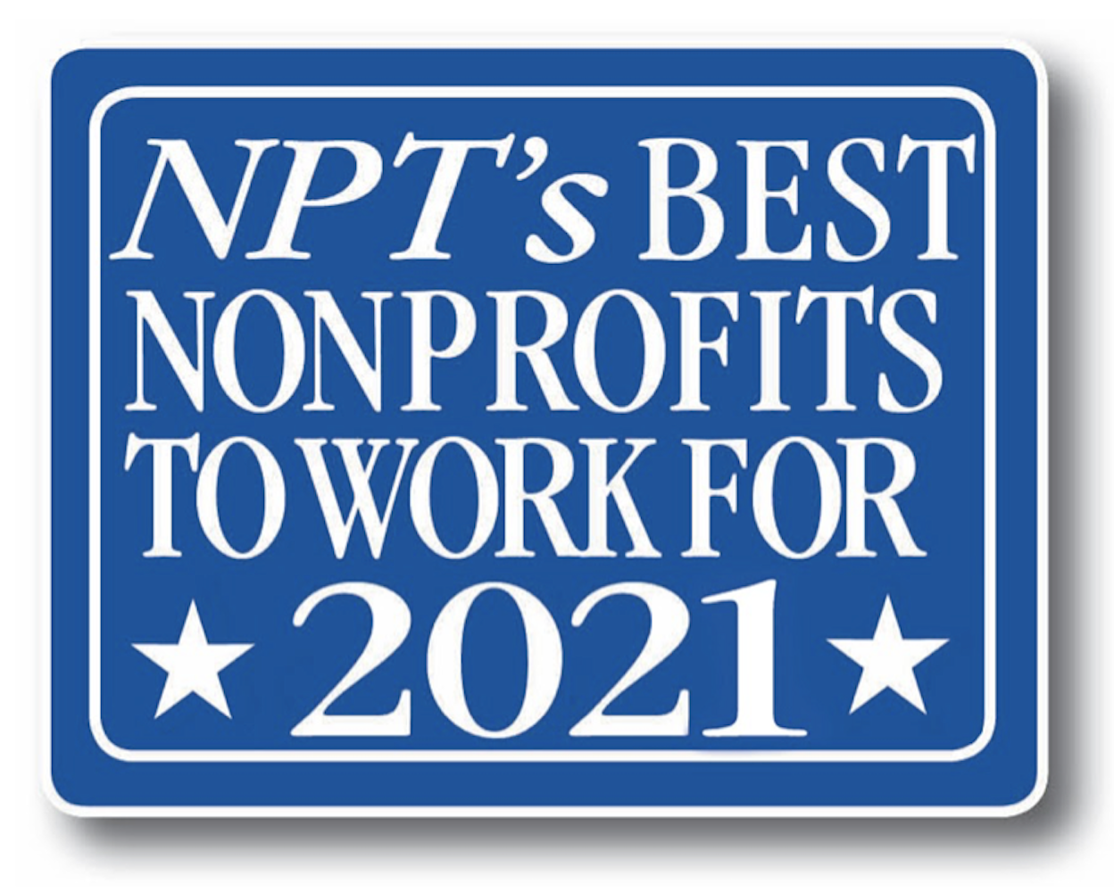 Voted Best Nonprofit to Work For!